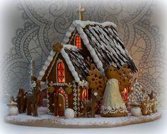 Mansikkamäki-blog, gingerbread house.