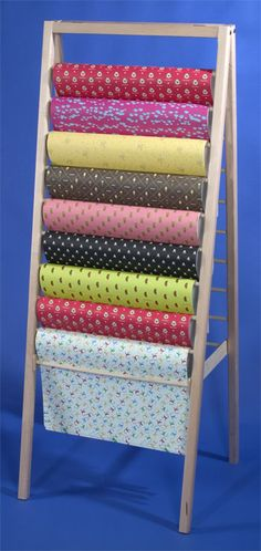 #8550 Floor Ladder Display  - wrapping paper