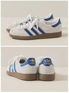 adidas Originals München: White/Navy