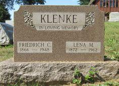 Lena Margaret Hahnenkamp Klenke (1872 - 1962) — Friedrich Conrad Klenke (1866-1948) - Find A Grave Photos