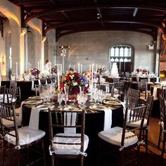 reception - I want black and white, but not like this...