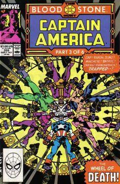 Captain America #359, 1989