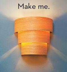 15 Einzigartige DIY-Ideen für Lampen mit Holz! - DIY Bastelideen