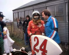 James Hunt at what I believe is the 1975 Swedish Grand Prix. Hunt retired from that event after 21 laps with brake problems.
