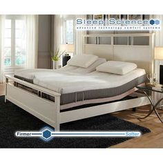 Sleep Science Natural Latex, Split-King Mattress with Adjustable Power Base, Medium-Firm Includes: 2 Twin XL Natural Latex Mattresses Wooden Bed Frame Pictured is Not Included Old Mattress, Mattress Covers, Adjustable Bed Frame, Ikea, Wooden Bed Frames, Bed Wall, Natural Latex, Leather Sectional, Bedroom Decor
