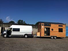Tiny house en instance de départ ! Un voyage de 2015 km...