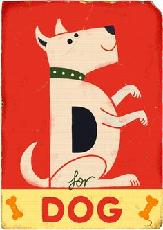 Paul Thurlby, available on his website as a print and as part of an alphabet book