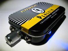 Micro Cmoy headphone amp - Opamp2227 - Amplifier Penguin Mint