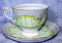 Beautiful Vintage Tuscan Bone China tea cup and saucer