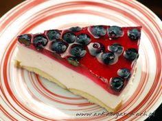 Ciasto z owocami na zimno - przepis | Anka w garnkach