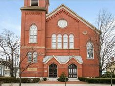 10 East St, East Side Of Prov Rhode Island. Anyone want to buy a church? Not my listing but beautiful structure.