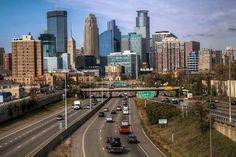 Миннеаполис (Миннесота) - Города близнецы: Миннеаполис/Сент-Пол - Города США