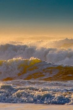 Ocean waves wallpaper Gorgeous-Oh-the-power-of-that-ocean-Brings-me-to-my-knees-D-wallpaper Water Waves, Sea Waves, Sea And Ocean, Ocean Beach, No Wave, Stormy Sea, Crashing Waves, All Nature, Beautiful Ocean