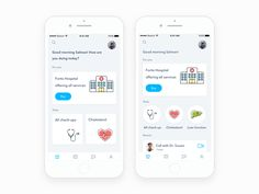 Hello Dribbblers, Designed a Home Screen for health app which I've worked on few months ago. Now presnting it here. Let me know what you guys think. Don't forget to press L and show some support &...