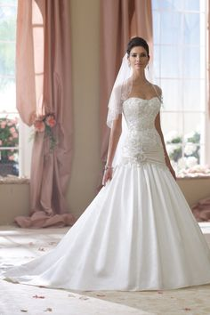 David Tutera for Mon Cheri Wedding Dresses Photos on WeddingWire