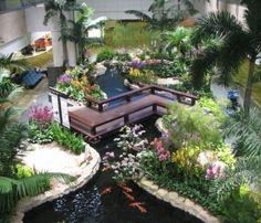 indoor gardening - I want this!