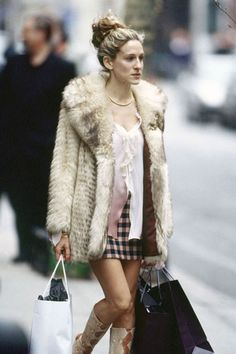 June 4, 2000: Sarah Jessica Parker as the style-influencing Carrie Bradshaw on Sex and the City