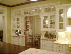 Home Decor, Pinterest and more... Practical Magic House, Old Kitchen, Kitchen Dining, Country Kitchen, Kitchen Magic, Dining Rooms, China Kitchen, Real Kitchen, Nice Kitchen