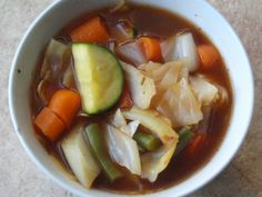 A great soup recipe to help kick-start your weight loss plan for 2013