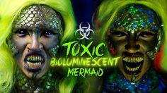 TOXIC BIOLUMINESCENT MERMAID - NYX Face Awards 2015 Top 12 Challenge