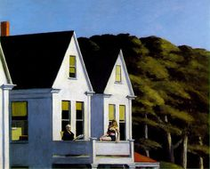 Second Story Sunlight, Edward Hopper.