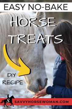 These no-bake horse treats make a great reward after a long ride, or as an easy way to get healthy, natural supplements into your horse's diet. Whether you're dealing with a dull coat, hard keeper,… Horse Stalls, Horse Barns, Western Horse Tack, Western Saddles, Horse Camp, Homemade Horse Treats, Horse Care Tips, Horse Training Tips, Horse Grooming
