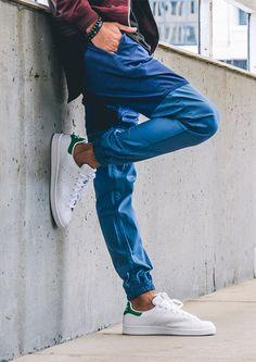 Publish & Stan Smith's #streetwear #pants #adidas #streetstyle