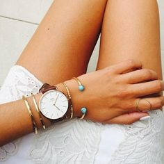 Simple, beautiful. 15% off daniel wellington watches with code ASHLEY