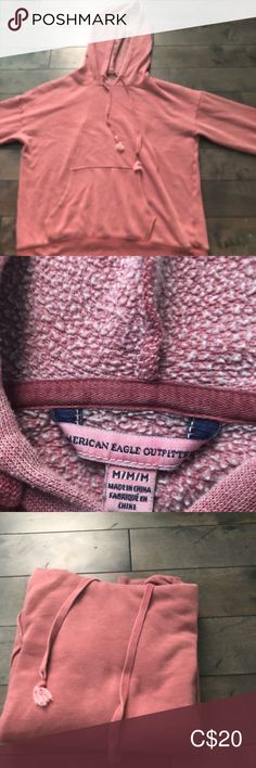 Shop Women's American Eagle Outfitters Red size M Sweatshirts & Hoodies at a discounted price at Poshmark. American Eagle Outfitters Tops, Hoodies, Sweatshirts, Salmon, Pullover, Best Deals, Closet, Things To Sell, Style