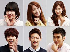 SK Telecom Blog update with SiWOn,KyuHyun,MinHo,Sulli,SeoHyun n YoonA