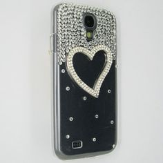 3D Bling Black / Rhinestone Samsung Galaxy S4 Case (FREE SHIPPING!) from Cool Mobile Accessories