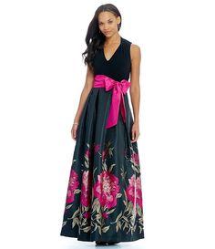 Eliza J Floral Bottom Halter Ballgown 238 Formal Dresses For Women, Cute Dresses, Beautiful Dresses, Evening Dresses, Summer Dresses, Dress Loafers, Jumpsuit Dress, Outfit Goals, Ball Gowns