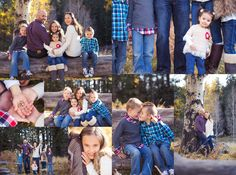Fall family sessions. Great ways to pose families with young children. www.prettypleasephotography.com