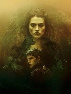 Morgana and Merlin | Wallpaper | Merlin BBC •