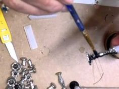 miniature candle stick video tutorial. Lots of interesting videos here.