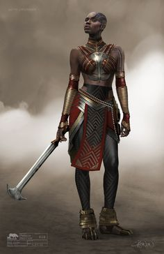 Black Panther- Dora Malaje concepts by Keith Christensen Black Panther Costume, Black Panther Art, Black Panther Storm, Black Panther Clothing, Character Concept, Character Art, Character Design, Baby Groot, Fantasy Characters