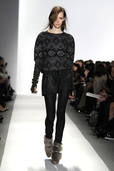 #Sweater #Runway #Leather #Model #Fall #Style #Fashion #BiographyInspiration