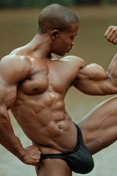 Hot Black Guys, Hot Guys, Black Man, Bodybuilding, Dark Men, Handsome Black Men, Tumblr, Fitness, Male Form