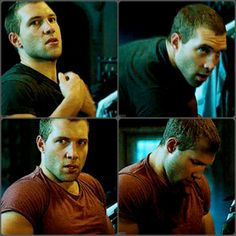 Jai Courtney in A Good Day To Die Hard. I absolutely <3 that movie. I have it on DVD now :)