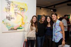 """2014 - Galería """"Quimera del Arte"""", muestra colectiva """"Entre Líneas"""""""