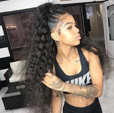 inch Malaysian human hair bundles loose wave hair extensions 100 unprocessed Virgin Human Hair Bundles wefts Natural black for afro women Weave Ponytail Hairstyles, Easy Hairstyles For Medium Hair, Black Girls Hairstyles, Long Ponytail Weave, Black Hairstyles With Weave, Straight Hairstyles, Short Hair Styles Easy, Medium Hair Styles, Curly Hair Styles