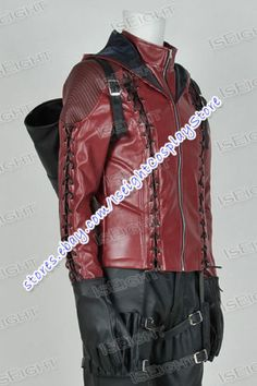 MOST REALISTIC IN PRICE RANGE!!   Green-Cosplay-Arrow-Season-3-Red-Arrow-Roy-Harper-Costume-Outfits-Tailor-Made