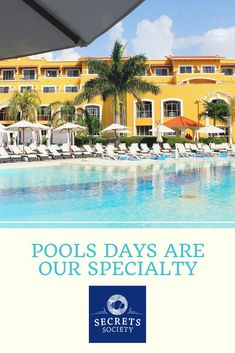 Whether you prefer a relaxing spa day or an exciting excursion, there's a Secrets Society reward for everyone! Pool Days, For Everyone, Spa Day, Spas, Resort Spa, Dream Vacations, My Dream, The Secret, Community