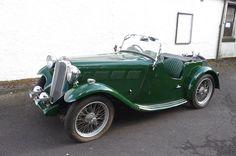 1936 Singer Nine Le Mans Sports Special