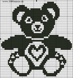 1000 Strickmuster » Teddys