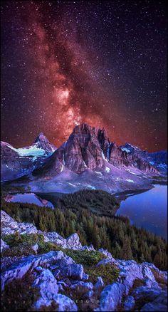 Stargazer by Alex Gubski on 500px Assiniboine Provincial Park, Canada