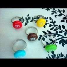 M&M Rings made by Fairypants in - Made In Uk, Jewelry Making, Jewellery, Rings, How To Make, Jewelery, Jewelry Shop, Ring, Jewellery Making