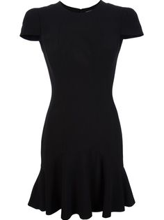 ALEXANDER MCQUEEN - peplum dress 6 Perfect Little Black Dress