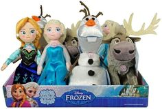 Disney's Frozen Talking Plush Dolls - Choose From Anna, Elsa, Olaf & Sven