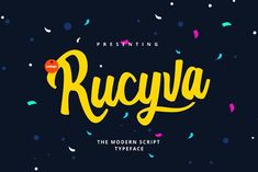 Rucyva Slova - 75% OFF by LeMagh on @creativemarket